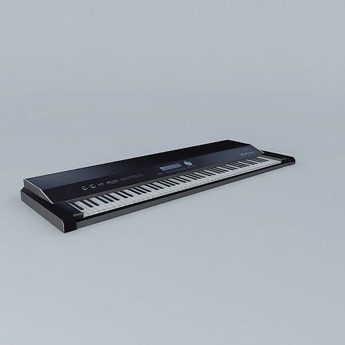 3d digital piano rowland v piano cgtrader. Black Bedroom Furniture Sets. Home Design Ideas