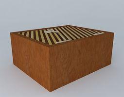 3D model Andalousian Dog Box