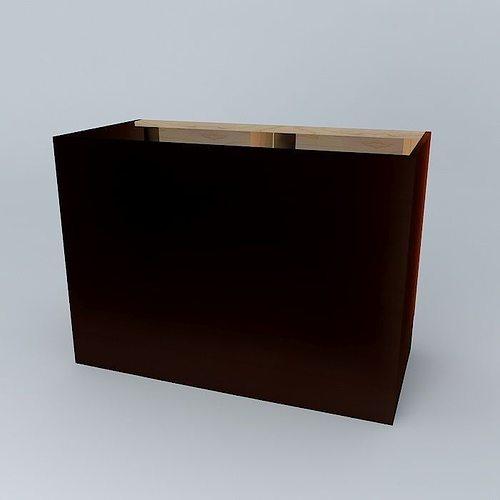 Cabinet free 3d model max obj 3ds fbx stl dae cgtrader com