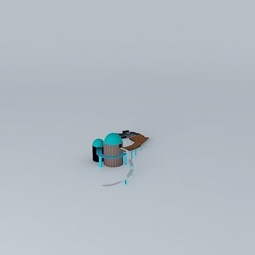 seaworld san diego journey to atlantis commerson dolphin exhibit 3d model max obj 3ds fbx stl dae 1