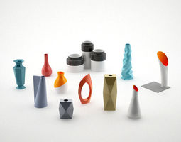 Vases Collection Vol 2 3D model