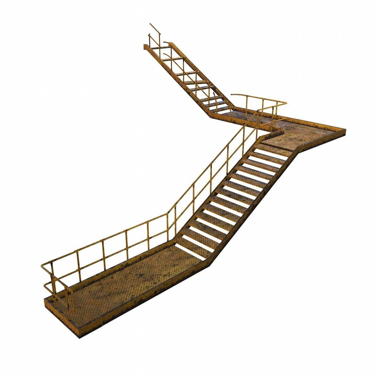 Modular Industrial Staircase