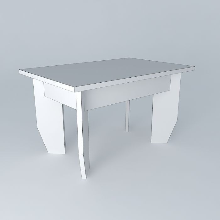 ... Contemporary Center Of Table 3d Model Max Obj 3ds Fbx Stl Dae 4 ...