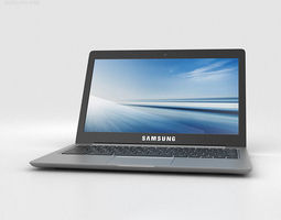 Samsung Chromebook 2 13-3 inch Grey 3D