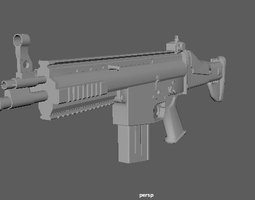 3D asset Scar L with Animation