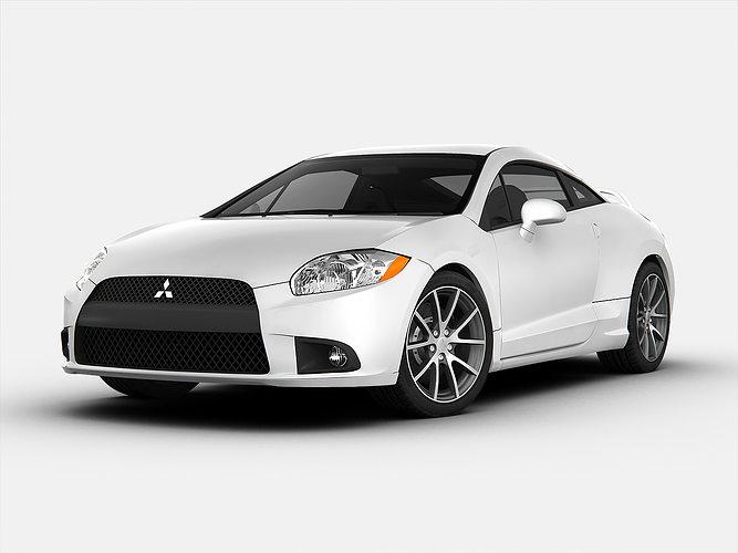 3D model Mitsubishi Eclipse GT 2012 | CGTrader