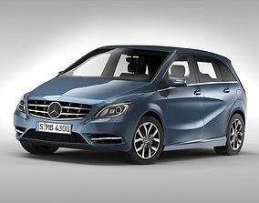 3D model Mercedes Benz B Class 2012