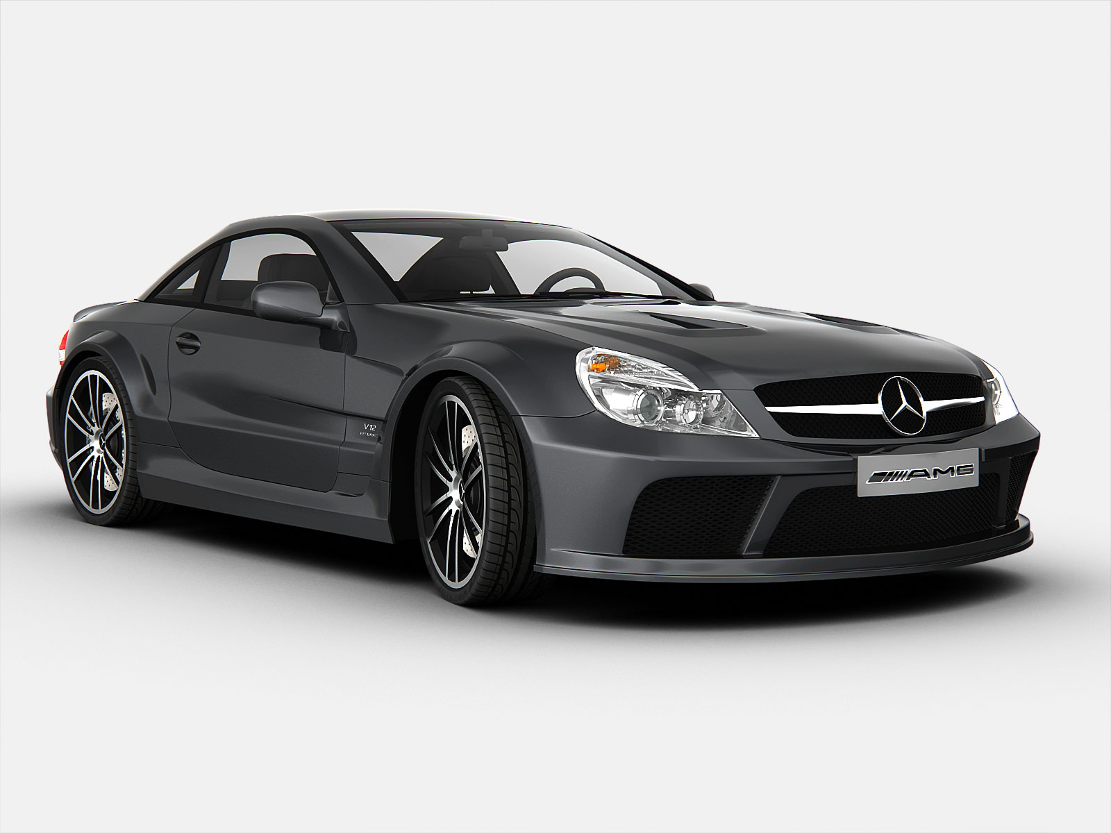 BrianZuk spots an absolutely stunning RED Mercedes SL65 AMG Black Series...very  rare