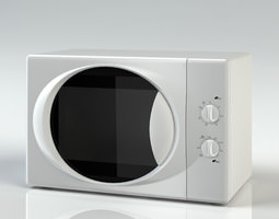 XB2322 Microwave Oven 3D model