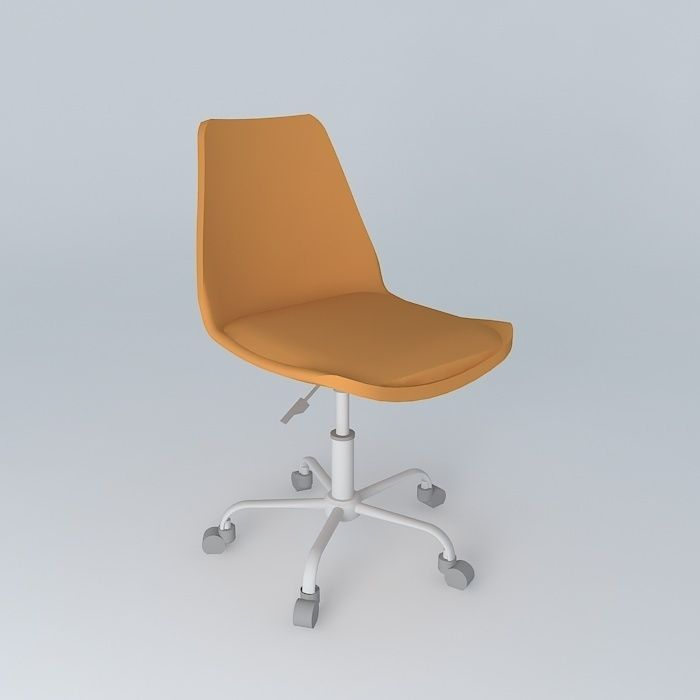 Office chair orange BRISTOL houses the world
