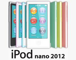 Apple iPod nano 7g 3D model