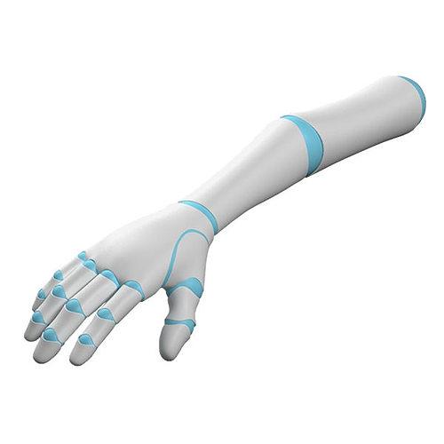 robot arm 3d model rigged max obj fbx c4d ma mb hrc xsi 1