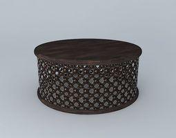 Bamileke King's Table Large 3D