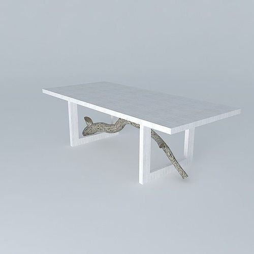 3d Model Ralph Pucci Dining Table Cgtrader