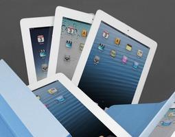 3D model Apple The New iPad with Retina Display