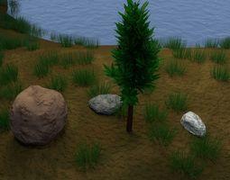Tree 1c 3D model