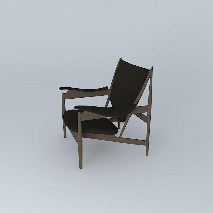 Finn Juhl Chieftains Chair 3d Model Max Obj 3ds Fbx Stl Dae 1 ...