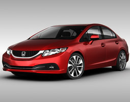 Honda Civic 2013 3D