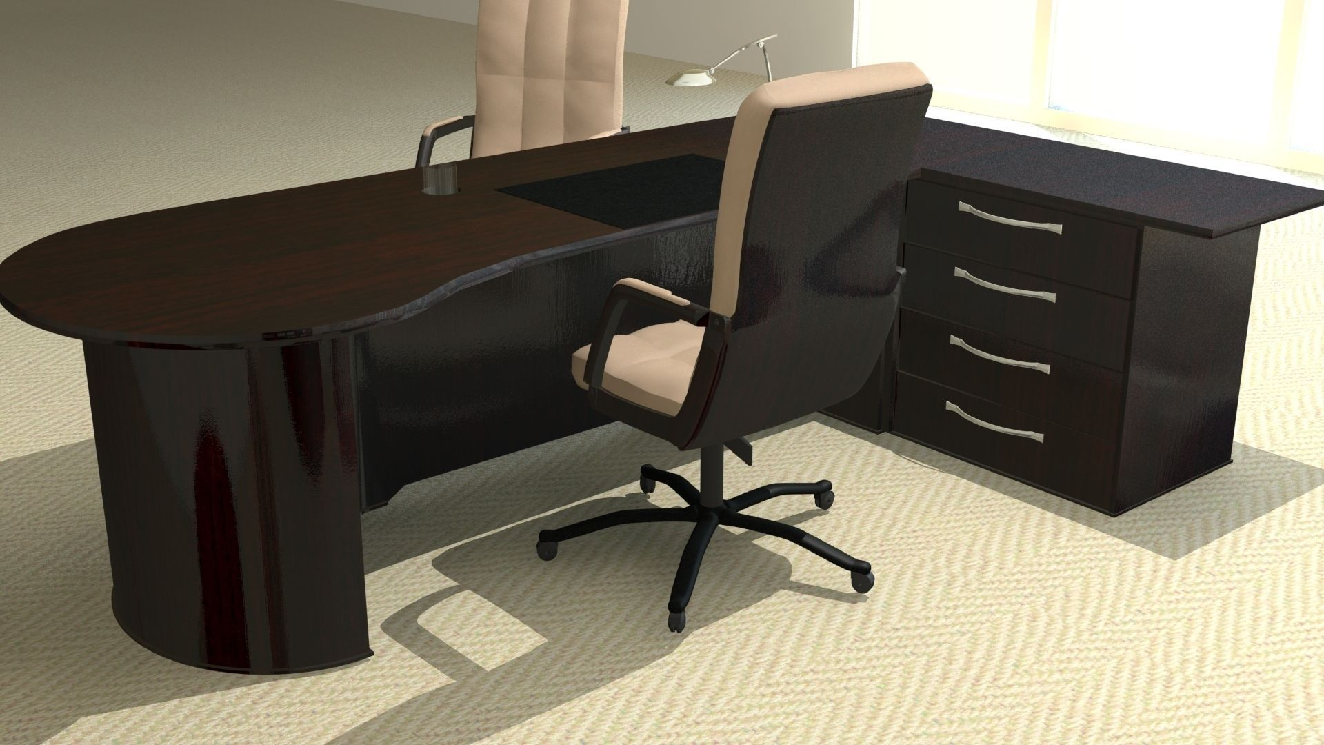 Lastest CGAxis Models Volume 11 Office Furnitures