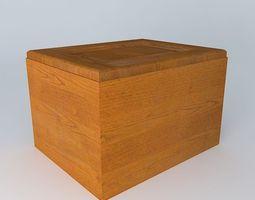 3D Kitchen Red Fair Cabinet
