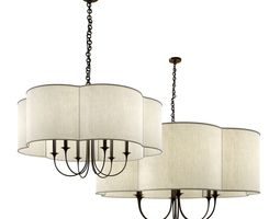 3d model arteriors home rittenhouse large chandelier