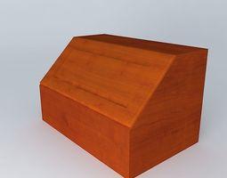 Kitchen Red Fair Cabinet 3D fair brw