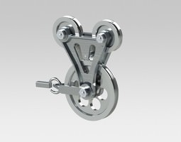 towing hook 3D model