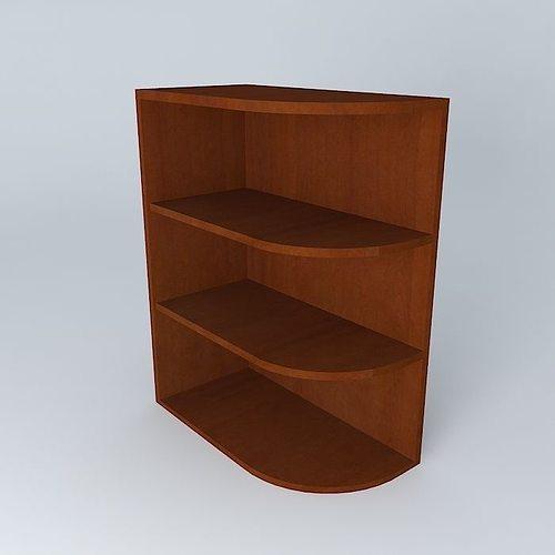 kitchen corner shelf 3d model max obj mtl 3ds fbx stl dae 1 ... & 3D model Kitchen corner shelf | CGTrader