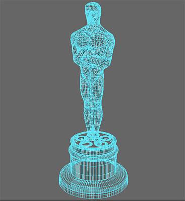 Download Oscar Award 3D Model Free Free - goodsxilus