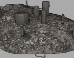 3D asset Kece 2 - industrial facility
