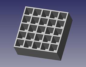 3D print model 45 Stackable Ammo Box