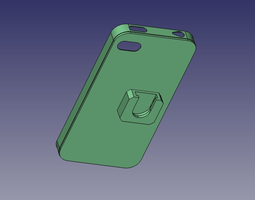 iPhone 4 case 3D printable model