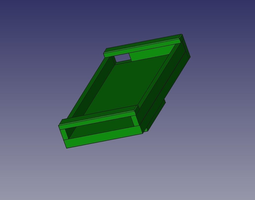 Ipod Nano 4g Mount for a Picatinny Rail 3D print model