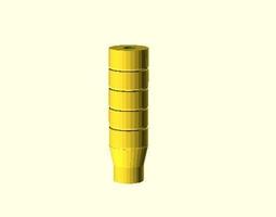 caliber 22 SILENCER 3D printable model