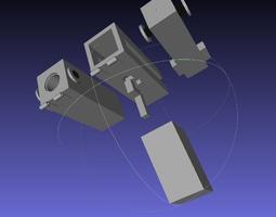 3D print model Flare Pistol
