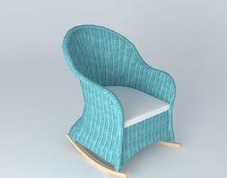 Claro 3d models download 3d claro files - Rocking chair maison du monde ...