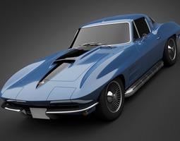 3D model 1966 Chevrolet Corvette