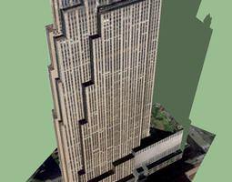 3D 30 Rockefeller Plaza GE Building