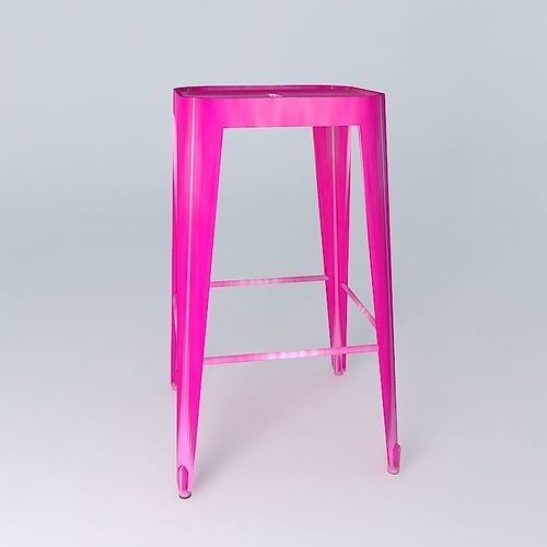 JIM Barstool pink houses the world 3D Model MAX OBJ 3DS  : jim barstool pink houses the world 3d model max obj 3ds fbx stl dae from www.cgtrader.com size 500 x 500 jpeg 13kB