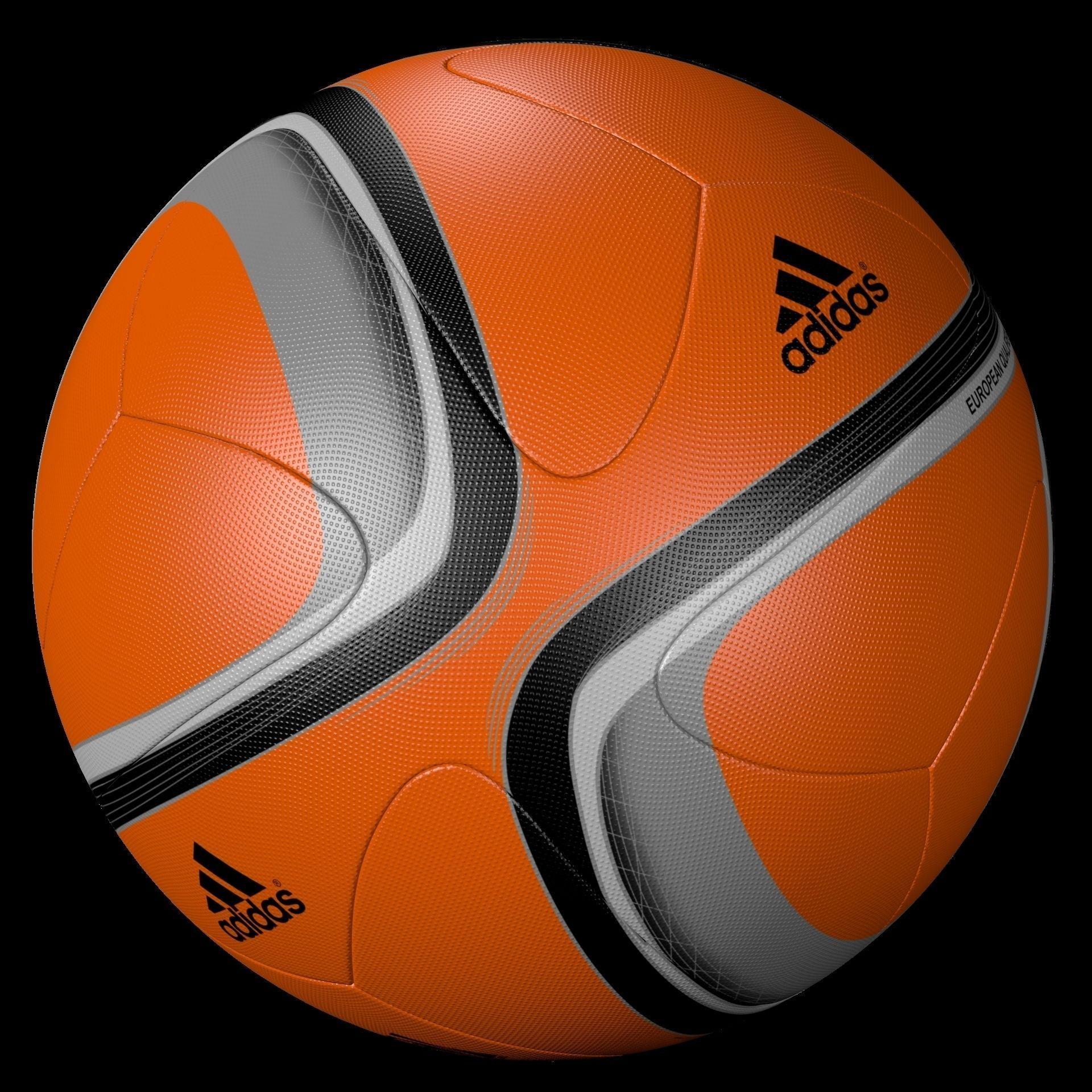 ... adidas official qualifier ball 2016 orange 3d model obj mtl blend 2 .  ... 1cd5927e4