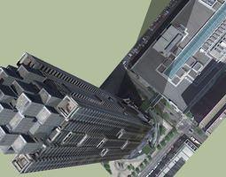 Atlanta Suntrust Plaza 3D model