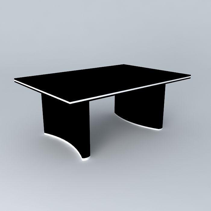 3D art deco table mesa art deco   CGTrader
