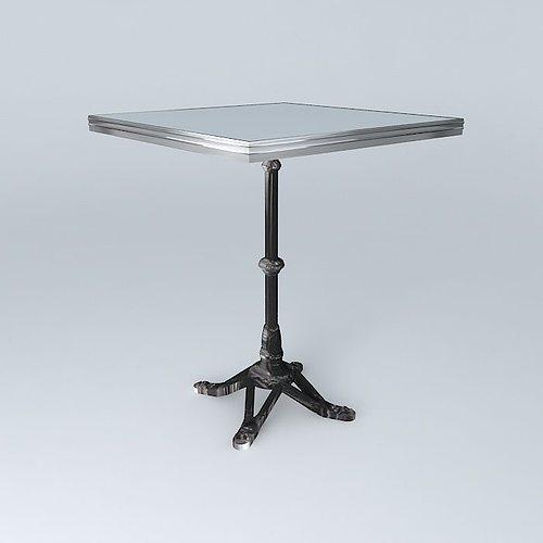 Bistro Table Square Ardamez Company 3d Model Max Obj Mtl 3ds Fbx Stl Dae 1  ...