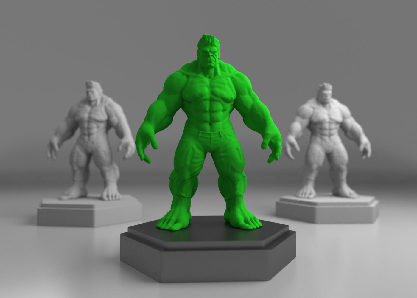 Exceptionnel Hulk 3D print model | CGTrader HY09