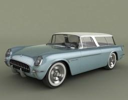 Chevrolet Corvette Nomad Concept 3D model