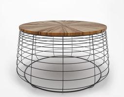 3D model APIS COFFEE TABLE