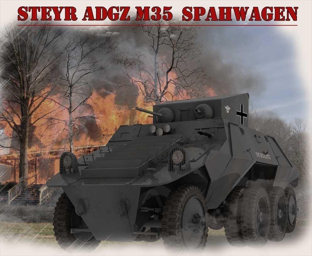 Steyr Adgz Spahwagen M35