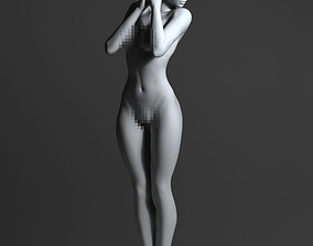 sexy people 3D print model Sexy woman with short hair