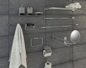 Bathroom accessories 3D