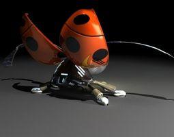 3D model LadyBug Robot